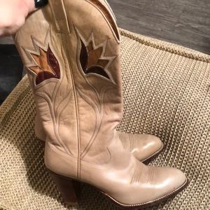 DAN POST Vintage cowgirl boots